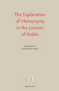 The Explanation of Homonymy in the Lexicon of Arabic