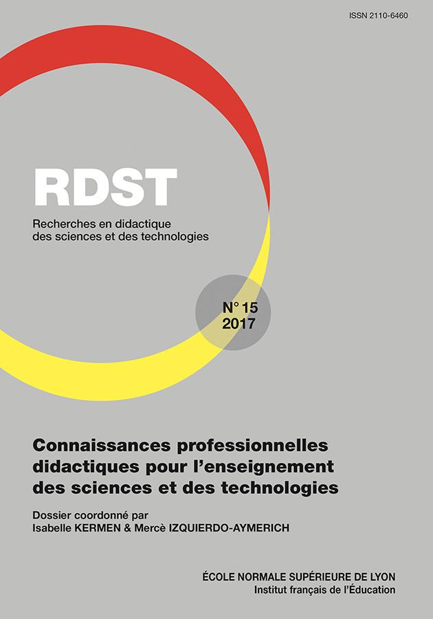 RECHERCHES EN DIDACTIQUE DES SCIENCES ET TECHNOLOGIES