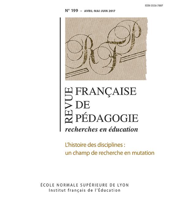 REVUE FRANCAISE DE Pédagogie